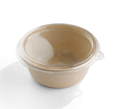 RPET Round Lid to fit 500ml Pulp Bowls/500s