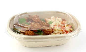 620ml Oval Pulp Bowls - GM Packaging (UK) Ltd
