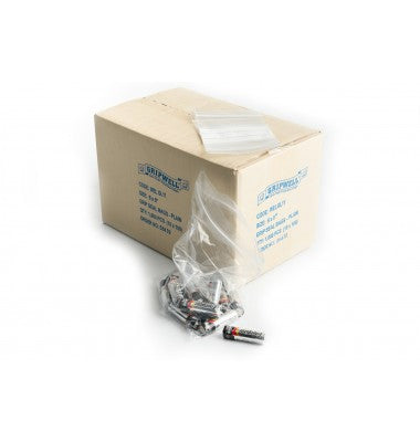 "3 x 7.5"" Polythene Grip Seal Bags - GM Packaging (UK) Ltd"