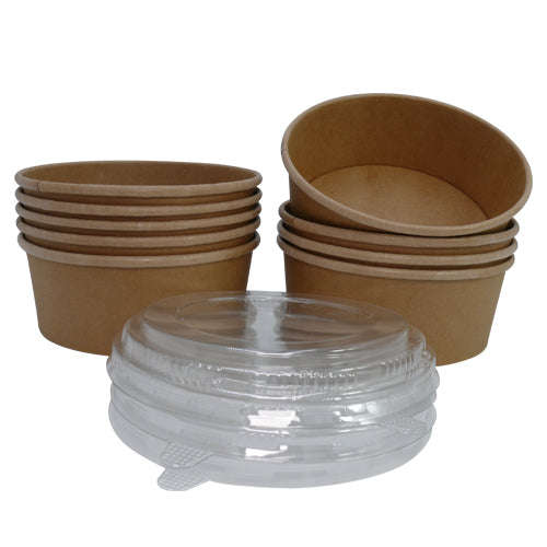 550ml Kraft Salad Bowls/400s - GM Packaging (UK) Ltd