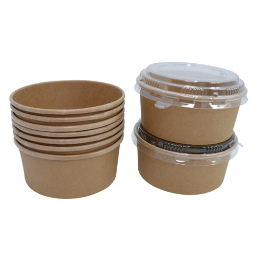 550ml Kraft Salad Bowls - GM Packaging (UK) Ltd