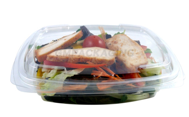 650cc FRESCO Hinged Oval Salad Container