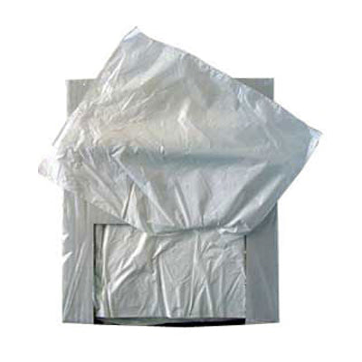 "12x15"" White HD Counter Bags"