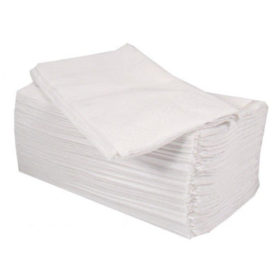 33cm 2Ply 8 Fold White Napkins - GM Packaging (UK) Ltd