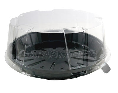 80mm Crystal Clear Cake Dome Lid - GM Packaging (UK) Ltd