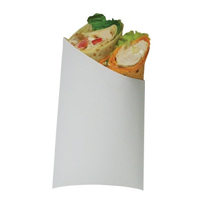 White Paper Pitta Sleeve - GM Packaging UK Ltd