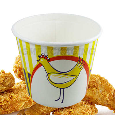 1920ml Chicken Bucket with Lid - GM Packaging (UK) Ltd