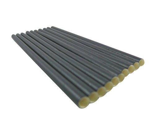 6mm Black Paper Straws - GM Packaging (UK) Ltd