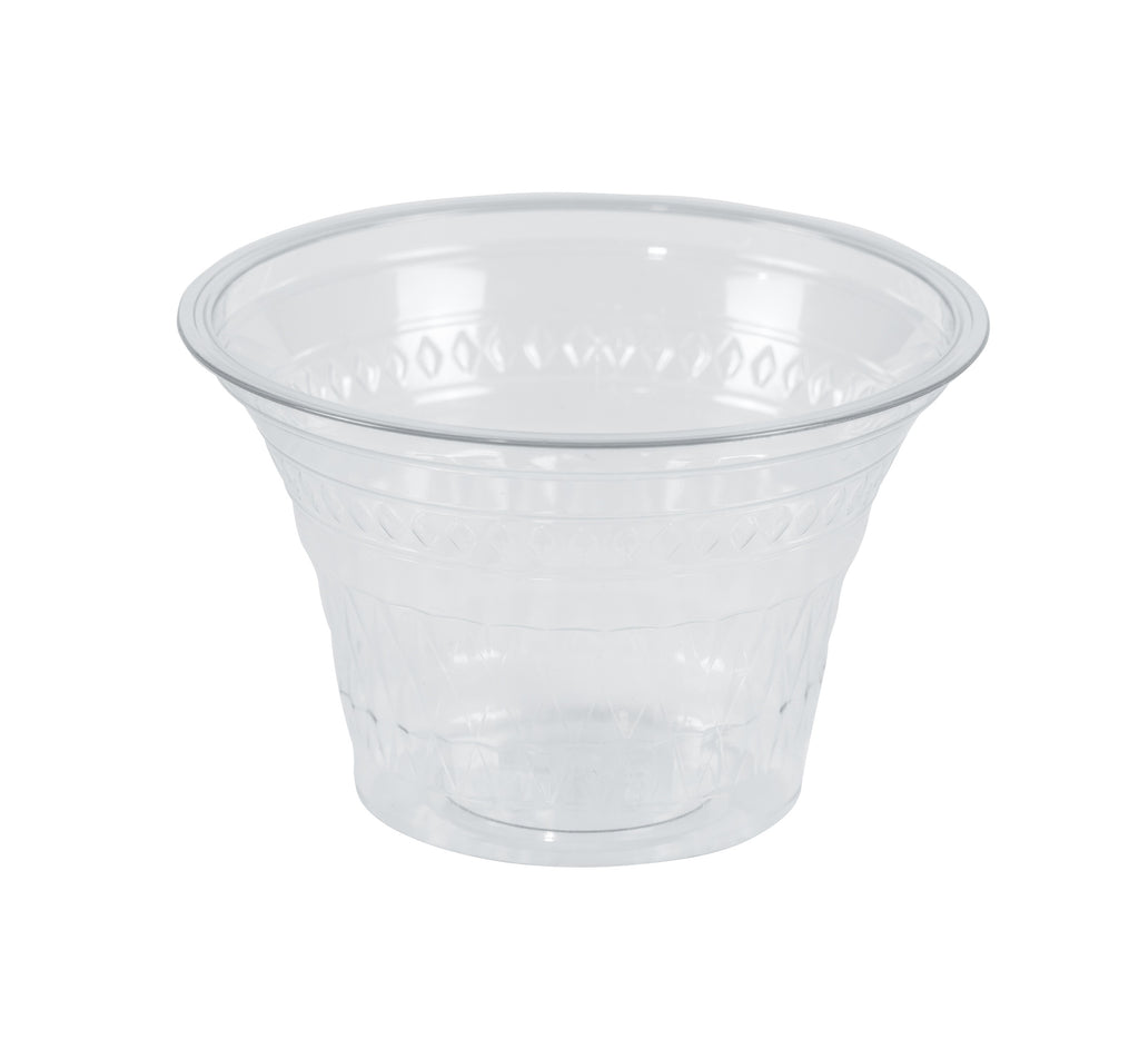 6oz Clear Round Containers - GM Packaging (UK) Ltd