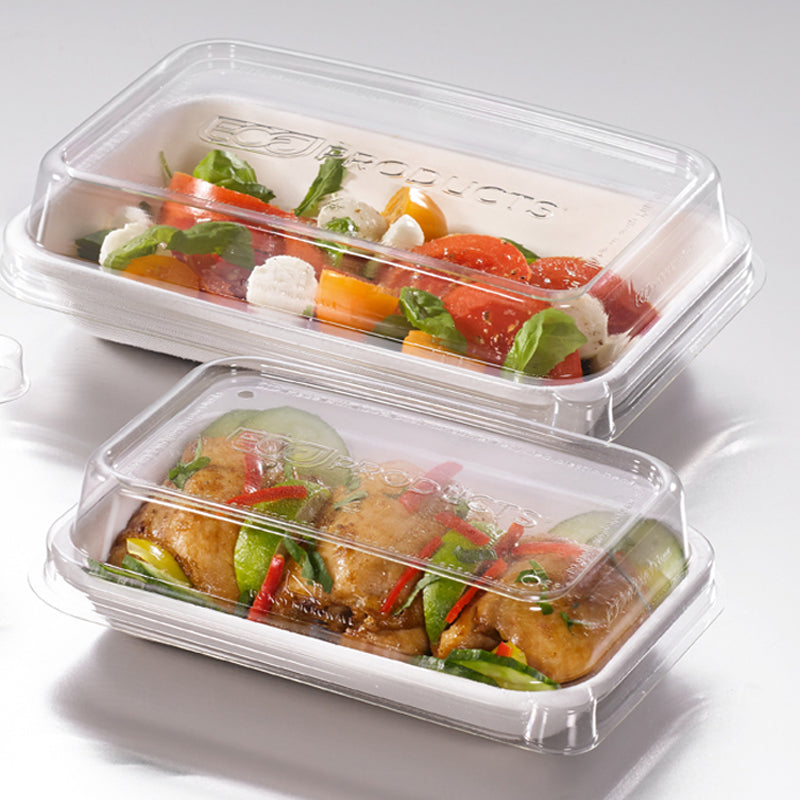 710ml Rectangular Worldview Takeaway Container - GM Packaging (UK) Ltd