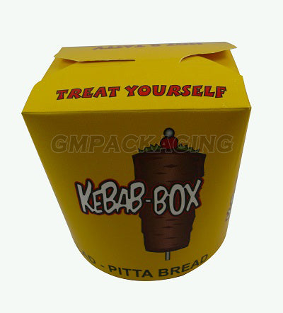26oz Kebab Paper Box - GM Packaging (UK) Ltd