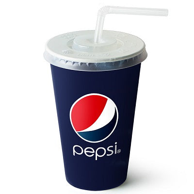 16/22oz Straw Slot Plastic Lid - GM Packaging (UK) Ltd