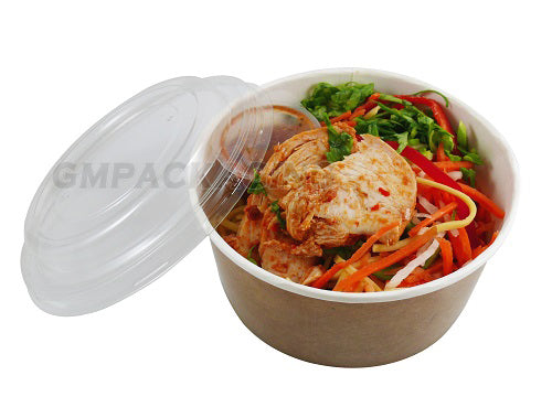 PET lid to fit 750ml food bowls - GM Packaging UK Ltd
