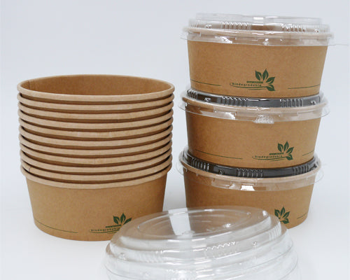 150mm PET lid to fit 750ml Kraft Salad Bowls - GM Packaging (UK) Ltd