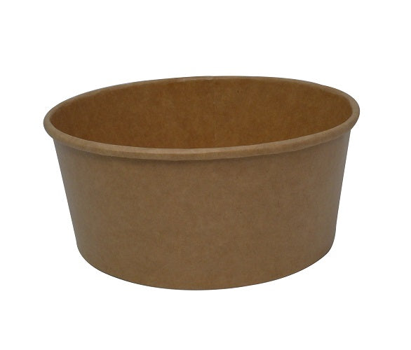 750ml Brown Kraft Food Bowls/400s - GM Packaging (UK) Ltd
