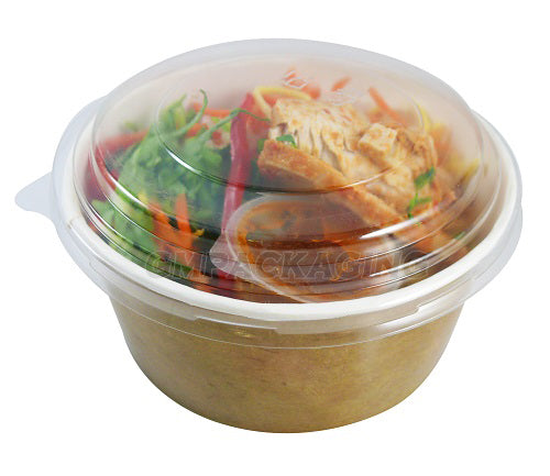 750ml paper salad bowl - GM Packaging UK Ltd
