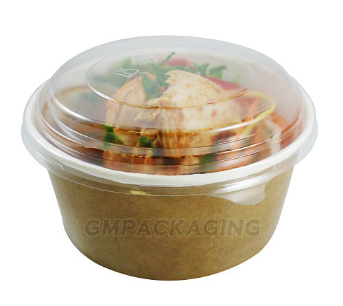 PET lid to fit 750cc salad bowls - GM Packaging UK Ltd