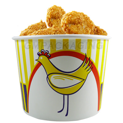 2550ml Chicken Bucket with Lid - GM Packaging (UK) Ltd
