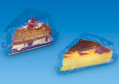 162x135x80mm Gateaux Slice Containers - GM Packaging (UK) Ltd