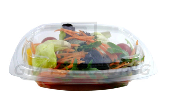 375cc FRESCO Hinged Oval Salad Container