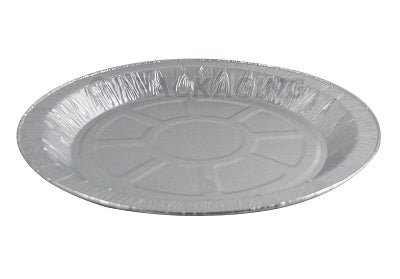 "8"" Round Foil Plates - GM Packaging (UK) Ltd"