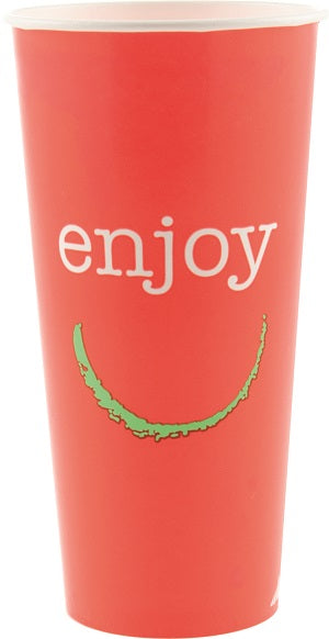 22oz Enjoy Paper Cold Cups - GM Packaging (UK) Ltd