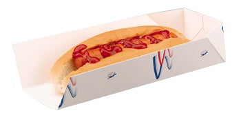 Cardboard Hot Dog Trays 'Supa' - GM Packaging (UK) Ltd