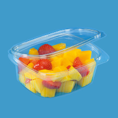 375cc Oval PET Salad Container/500s