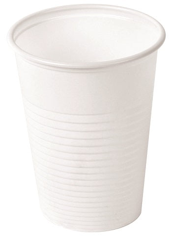 7oz Tall White Plastic Non Vending Cups - GM Packaging UK Ltd