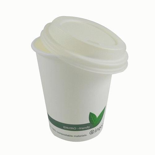 8oz Bio Coffee Cup (Single Wall) - GM Packaging (UK) Ltd