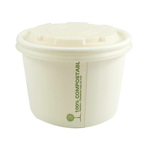 8oz Compostable Soup Cups - GM Packaging (UK) Ltd