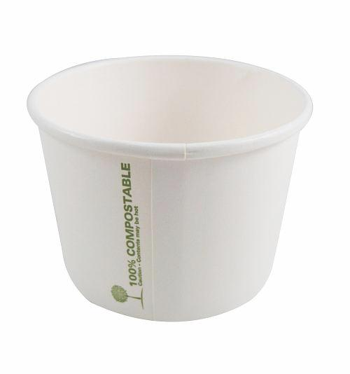 8oz Compostable Soup Cups & Ice Cream Cups - GM Packaging (UK) Ltd