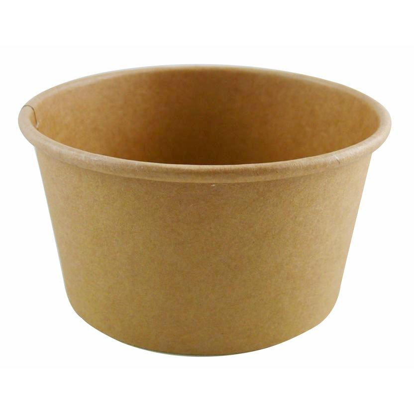8oz Kraft Soup Container/500s - GM Packaging (UK) Ltd