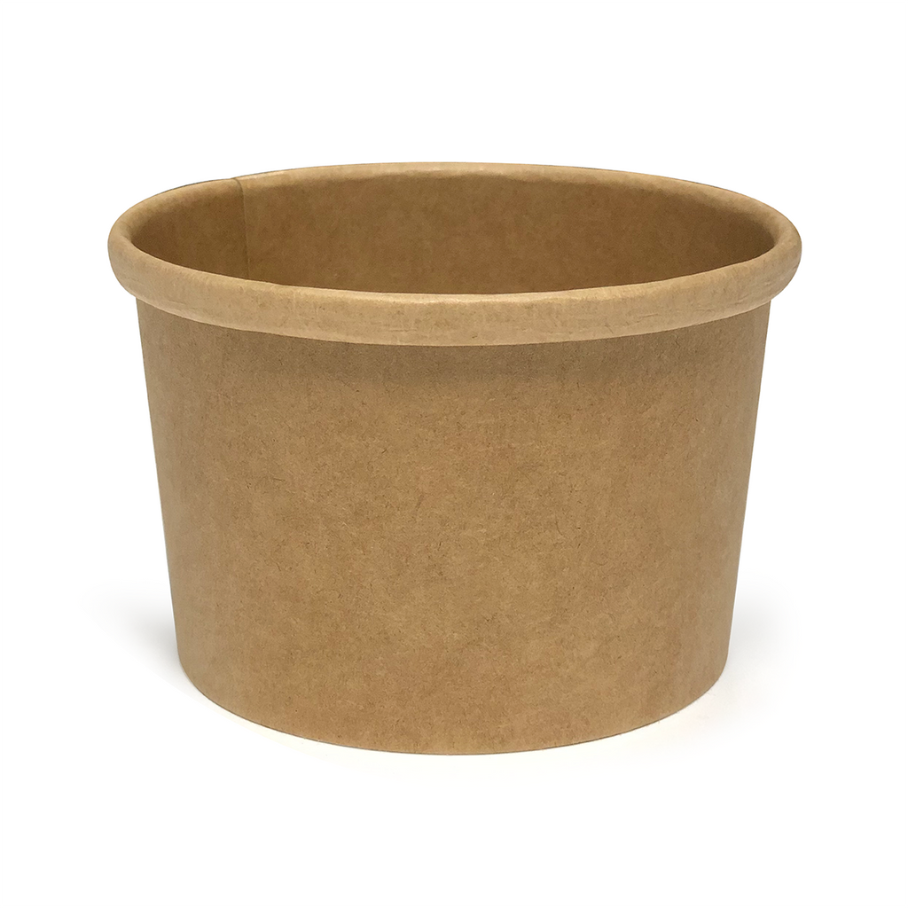 8oz kraft soup tub - GM Packaging UK Ltd