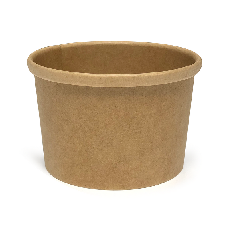 8oz Kraft Soup Tub - GM Packaging (UK) Ltd