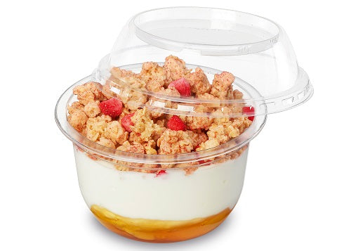 8oz Plastic Snacking Pots - GM Packaging (UK) Ltd