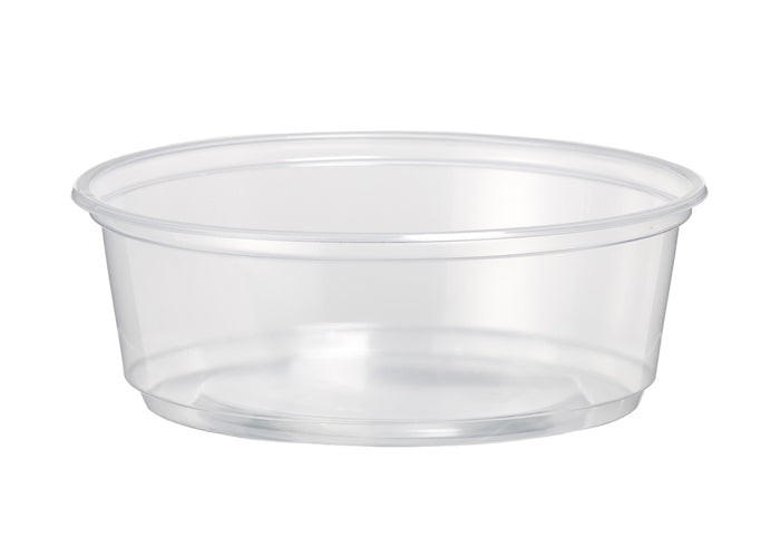 8oz Compostable Deli Pots - GM Packaging (UK) Ltd
