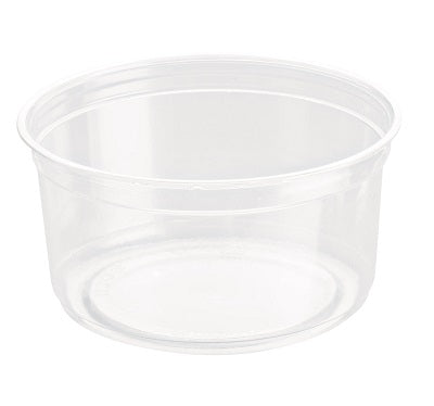 9.25oz Round Plastic Deli Pots - GM Packaging (UK) Ltd