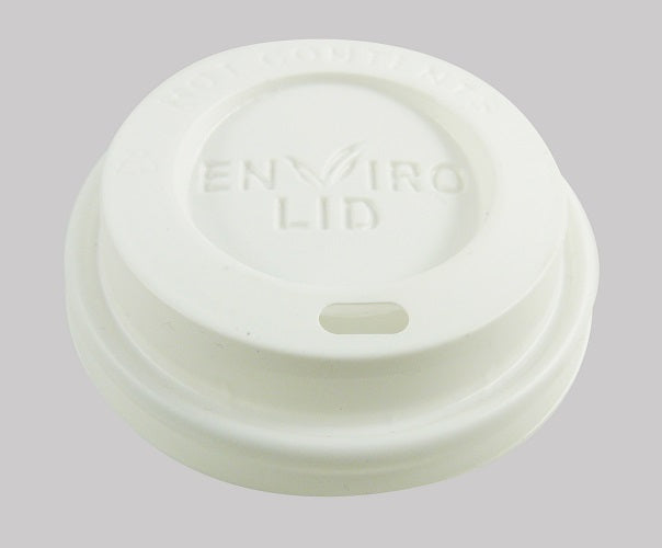 12oz Compostable Coffee Lid - GM Packaging (UK) Ltd