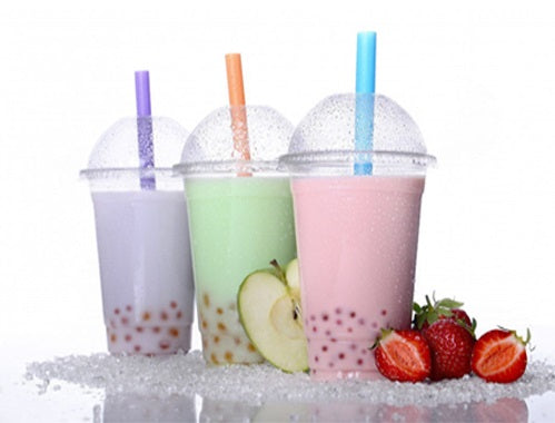 16oz Plastic Smoothie Cups with Lids - GM Packaging (UK) Ltd
