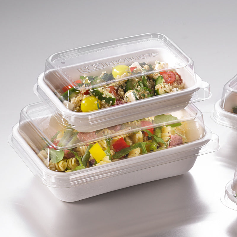940ml Rectangular Worldview Takeaway Container - GM Packaging (UK) Ltd
