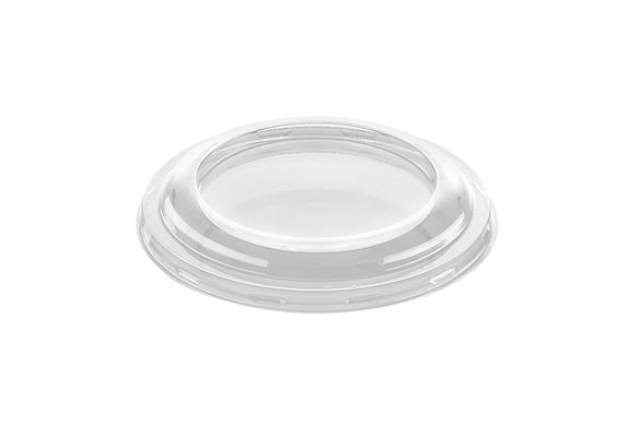 Plastic Flat Lids to fit 4/6oz  pot - GM Packaging (UK) Ltd