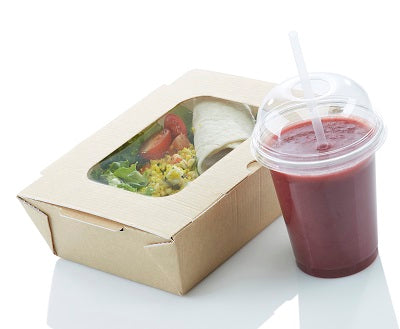 42.3oz Carry Out Boxes with window-stock in 22.06.20 - GM Packaging (UK) Ltd