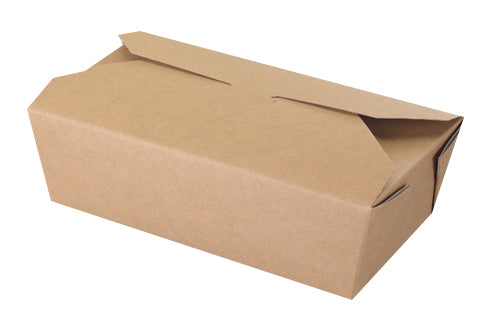 Rectangular Kraft Food Containers - GM Packaging (UK) Ltd