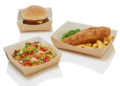 Square Taste Food Trays/120s