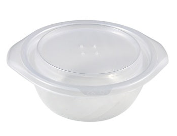 Clear Lids to fit 400cc Round Heat Bowls - GM Packaging (UK) Ltd
