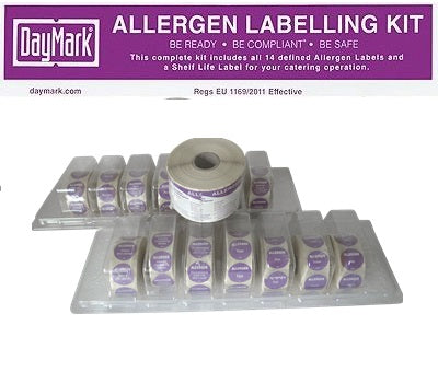 allergen labelling kit - GM Packaging UK Ltd