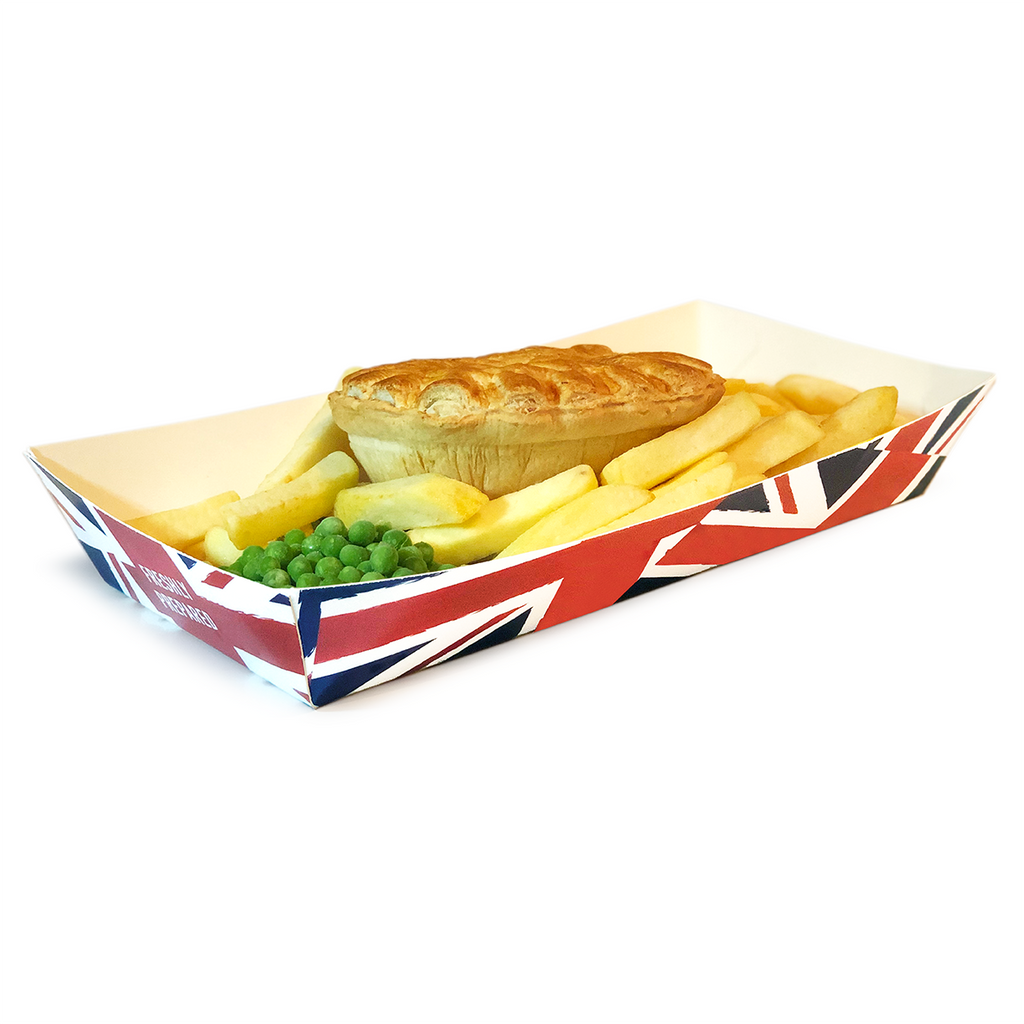 Standard Food Tray 'Union Jack' - GM Packaging (UK) Ltd