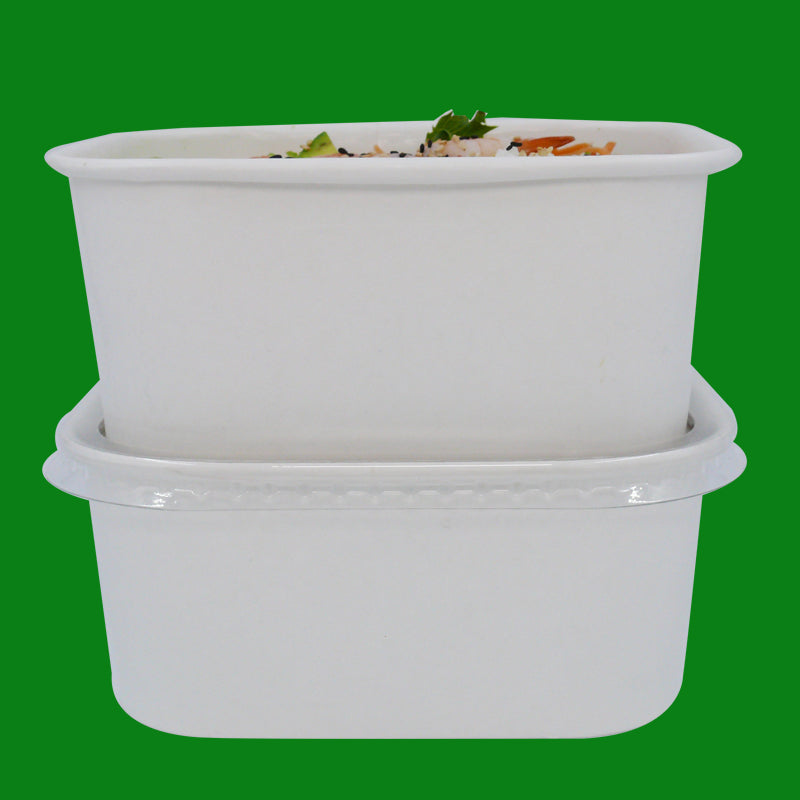 White Takeaway Containers - GM Packaging UK Ltd