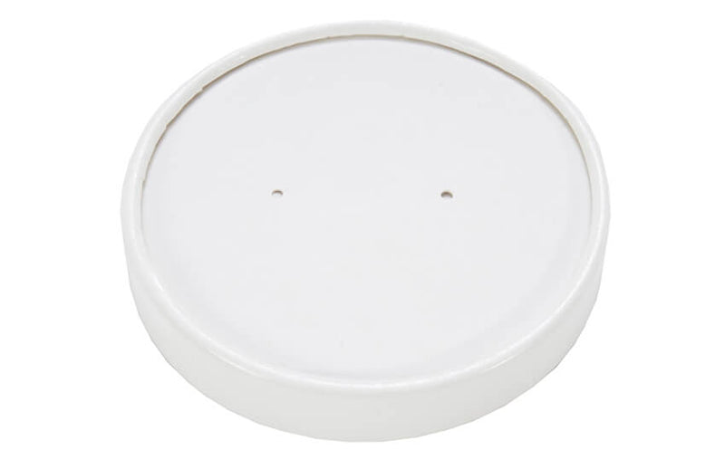 White paper soup lid - GM Packaging UK Ltd